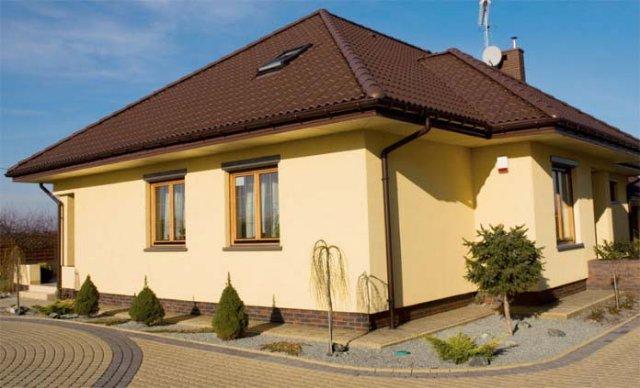 Выбор краски для фасада дома