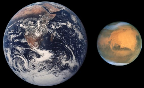 Ученые рассказали, почему Марс меньше Земли