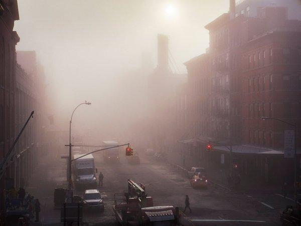 Загадочный туман с запахом фекалий встревожил воронежцев