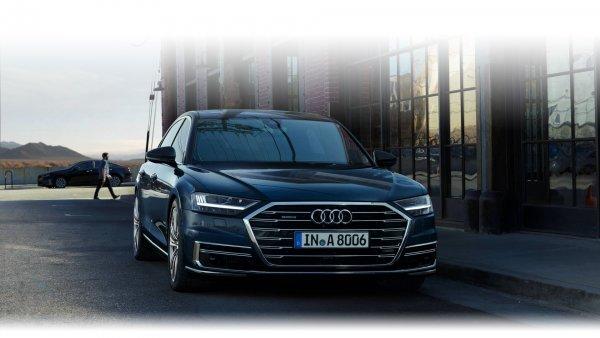 Audi A8 приедет в Россию с рекордно-мощным двигателем
