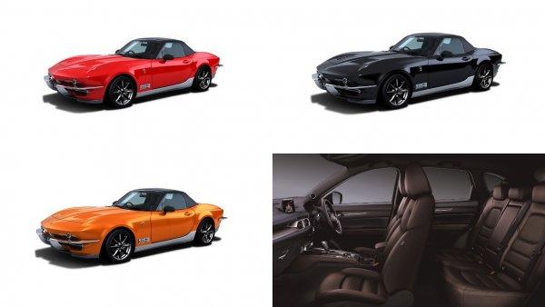 Mazda MX-5 переделали в родстер Mitsuoka Rock Star