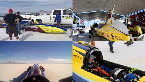 «Ракета на колесах»: В США установлен новый мировой рекорд скорости