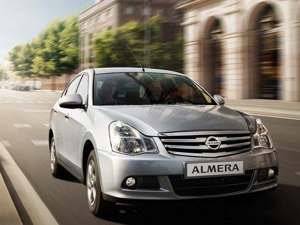 В России остановлен выпуск седана Nissan Almera