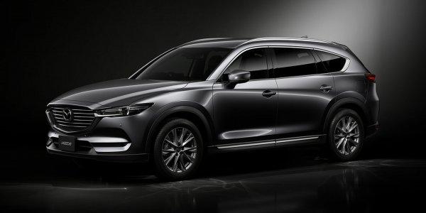 Кроссовер Mazda CX-8 перетерпел обновление для домашнего рынка