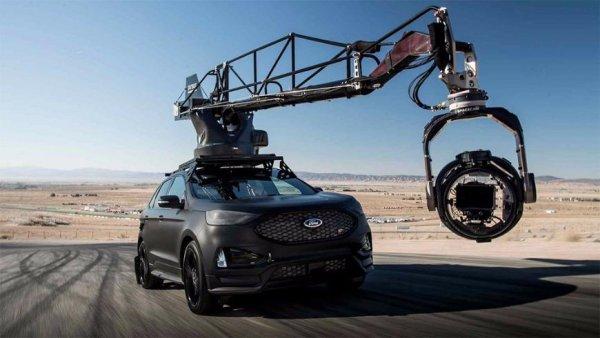 Кроссовер Ford Edge ST подготовили для съёмок автомобильных погонь