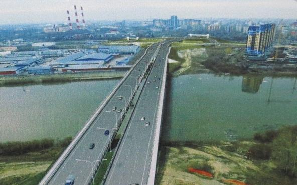 Стало известно, когда в Тюмени откроют прямое движение по мосту Мельникайте