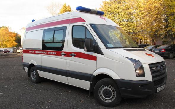 Пассажира автобуса увезли на скорой с подозрением на инсульт