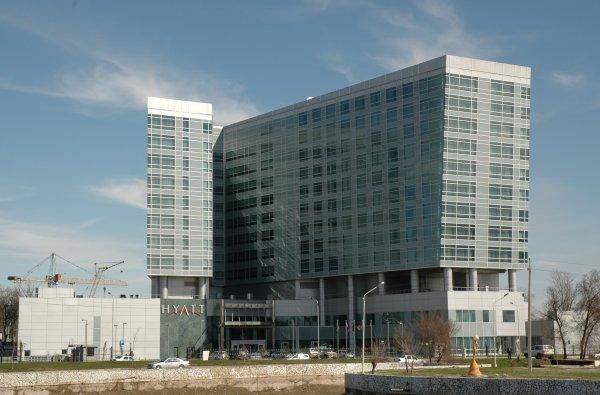 В Ростове приостановили строительство отеля Hyatt