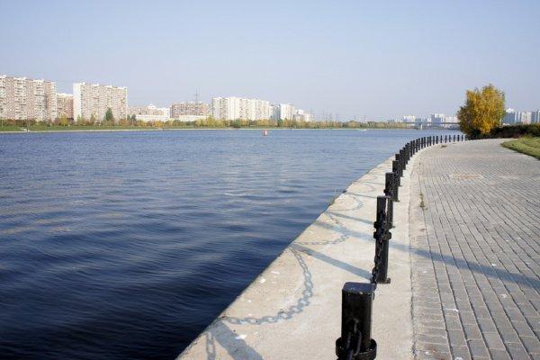К 2026 году на Москве-реке возведут плавучий  бассейн