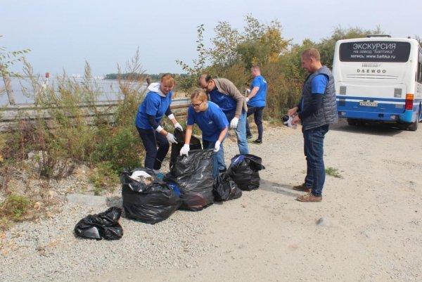 «Балтика-Хабаровск» стала участником экологического субботника в районе «Амуркабеля»