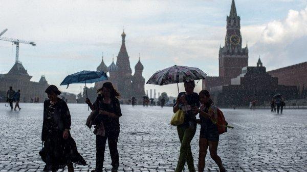 За день в Москве выпало 30% месячной нормы осадков