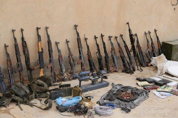 В Ростове на выставке продемонстрируют оружие боевиков из Сирии
