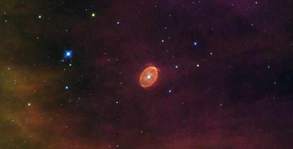 Ученые NASA запечатлели в космосе «силуэт летучей мыши»