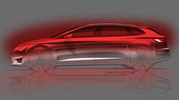 В сети показан скетч SEAT Leon Concept