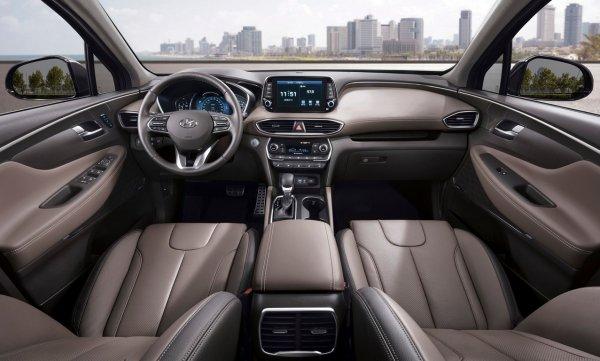 Hyundai представит в Лос-Анджелесе новый флагманский внедорожник Hyundai Palisade