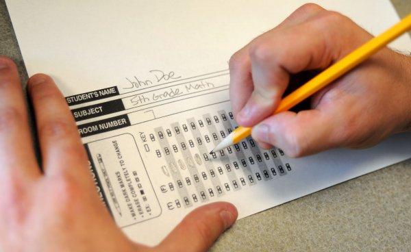 Рособрнадзор: Половина учителей провалили тесты по математике