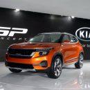 Бюджетный кроссовер KIA SP дебютирует в Китае