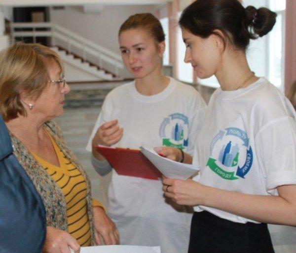 В Томске принять участие в акции по случаю Всемирного дня вторичной переработки мусора смог каждый желающий