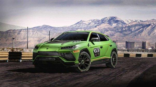Экстремальный Lamborghini Urus ST-X отправиться покорять гоночные трассы