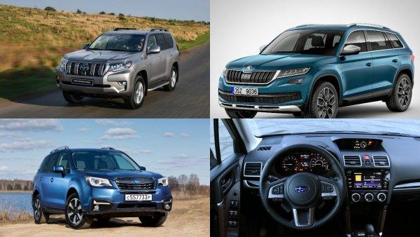 Определены самые лучшие автомобили года в России