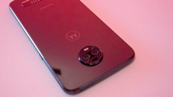 Инсайдеры заявляют, что Moto Z4 будет иметь новейший чипсет и внутриэкранный сканер