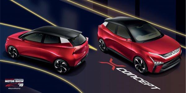Perodua представила шоу-кар X-Concept в Малайзии