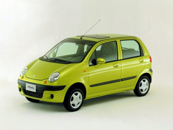 «Бешеный Матиз»: Daewoo Matiz «уделал» Mitsubishi Pajero и Jeep Grand Cherokee на бездорожье