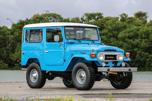 Легендарный «Крузак»: Озвучены самые интересные факты о Toyota Land Cruiser