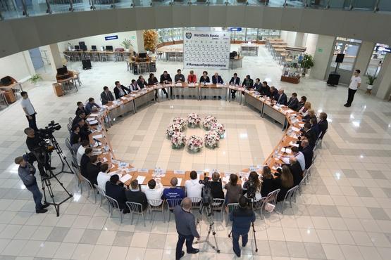 В Сургуте проходит IV Региональный чемпионат «Молодые профессионалы»