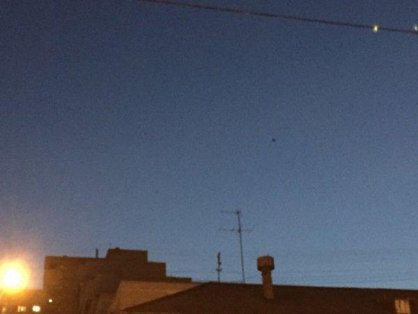 Инопланетяне над Уралом: В небе Екатеринбурга засняли нечто, похожее на НЛО