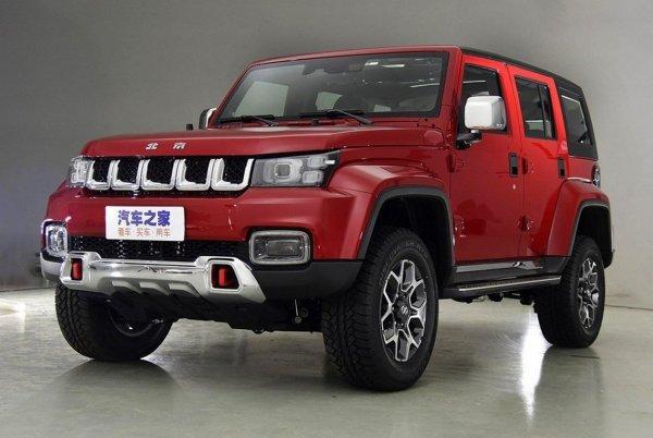 BAIC показал внедорожник Beijing BJ40 Plus с обликом Jeep Wrangler