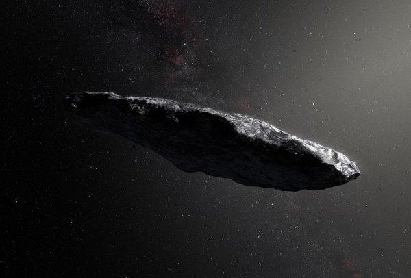 Ученые не смогли найти пришельцев на Оумуамуа