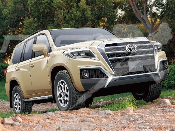 Из рамника в монокок? Появились подробности о Toyota Land Cruiser нового поколения