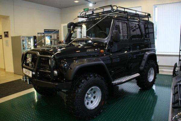 УАЗ «Хантер» отправится в Ливан с АКПП и новым турбомотором
