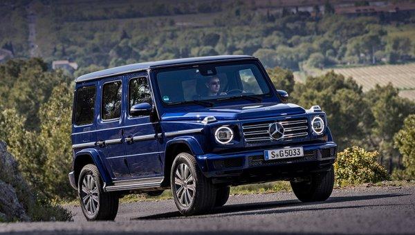 Mercedes-Benz представил самую дешевую версию внедорожника G-Class