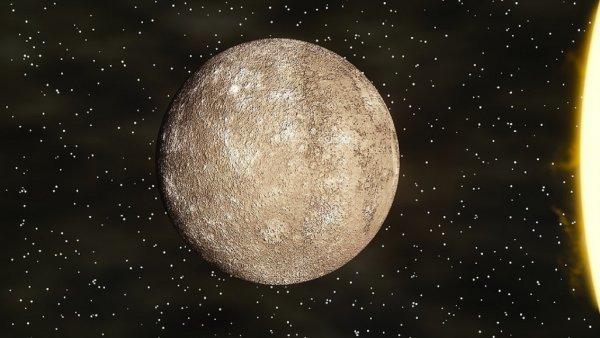 Ученые раскрыли секрет появления ледников на Меркурии