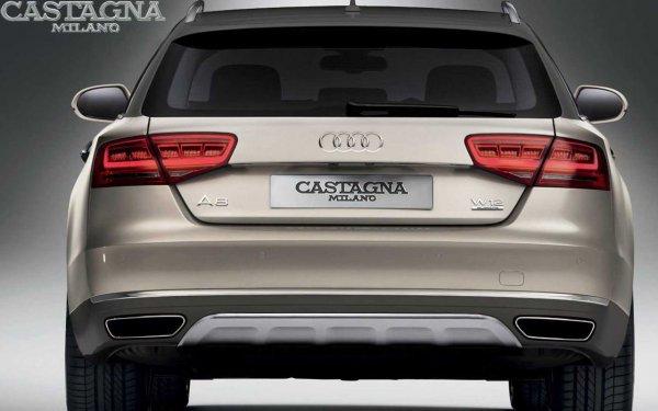Audi A8 стал универсалом повышенной проходимости