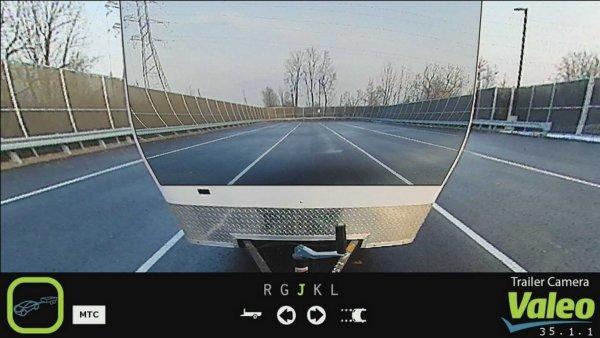 Компания Valeo показала «прозрачный» трейлер