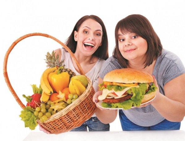 Ученые: Полезная пища намного привлекательнее в окружении вредной