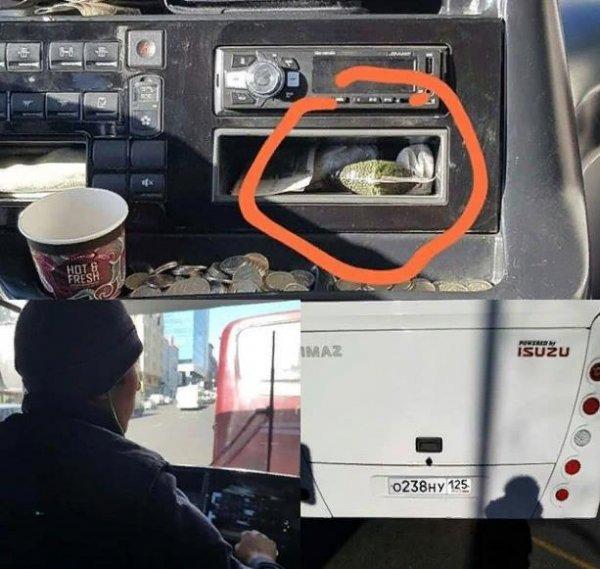 «Остановка – Матрица»: Во Владивостоке замечен водитель автобуса, употребляющий насвай – сеть