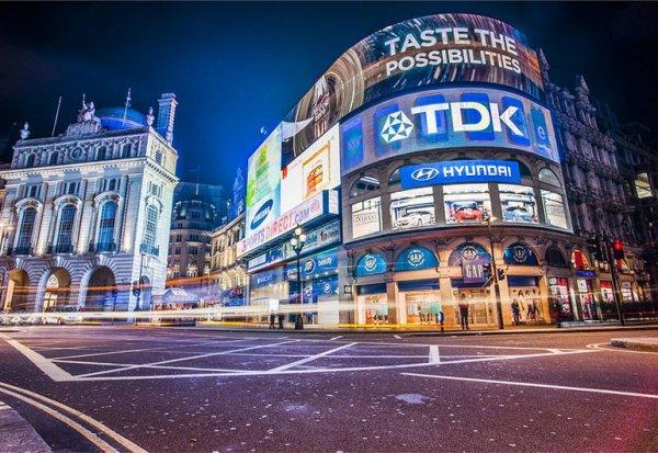 Виды рекламной и информационной LED продукции