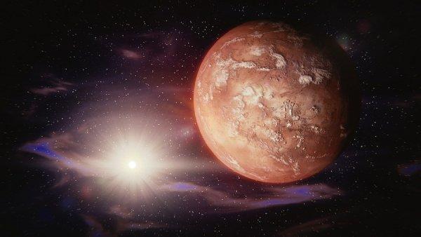 Ученые заподозрили вулканическую активность на Марсе из-за подледного озера