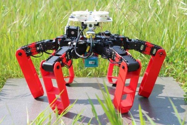 Разработан первый робот, двигающийся без системы GPS
