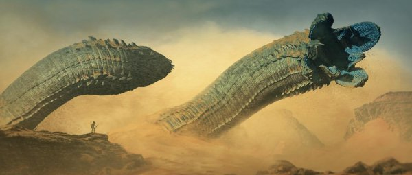 Ожили перед концом света: Доисторические черви-монстры стали предвестниками Нибиру