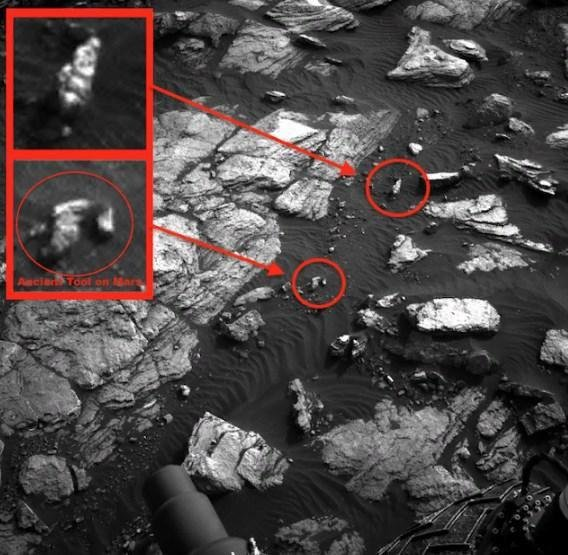 Уфологи нашли на Марсе гигантские лица древних пришельцев