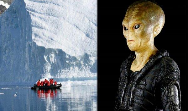 Учёные в панике: Пришельцы скрытно разрушают льды Антарктиды