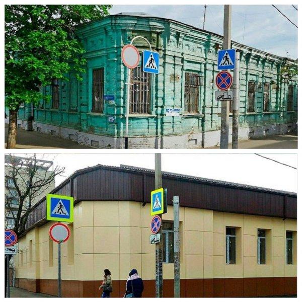 Реставраторы испортили памятник архитектуры 19 века в Краснодаре и вызвали гнев горожан