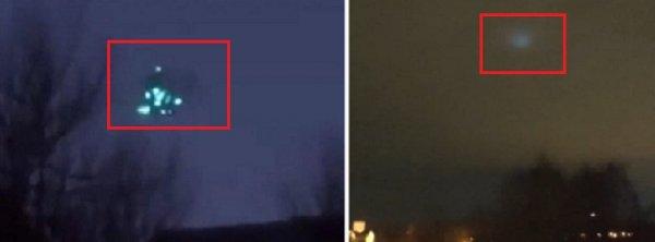 Пришельцы атакуют Россию: В разных частях страны было замечено НЛО