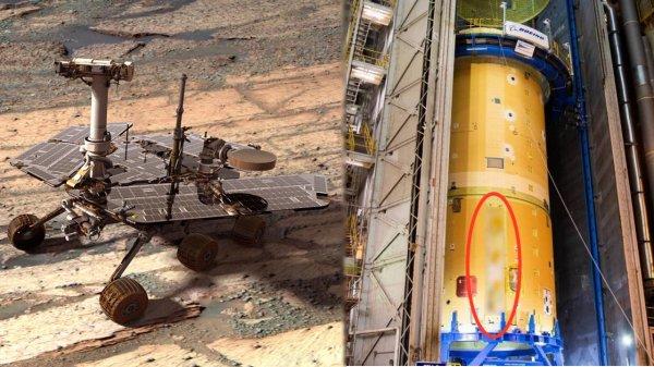 Трамп общался с пришельцами? NASA наносит на ракеты инопланетные символы