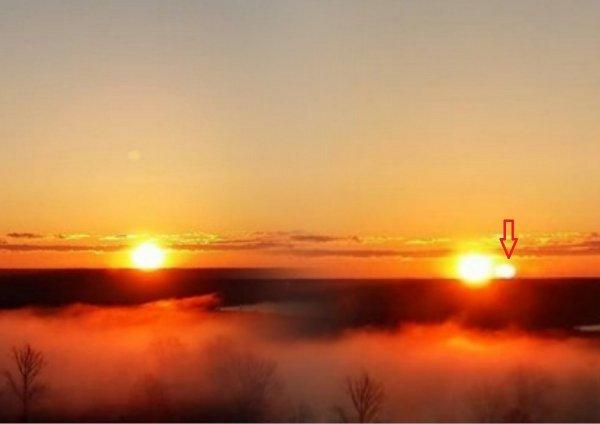 Пасха не наступит из-за Апокалипсиса: В небе над Белоруссией засняли «пришествие» Нибиру